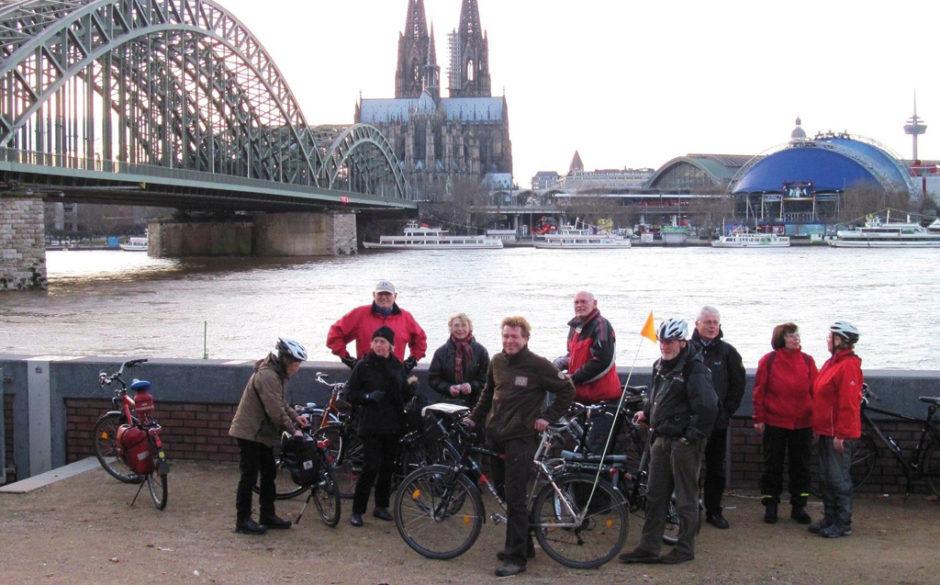 Kölner Krippenfahrt per Rad